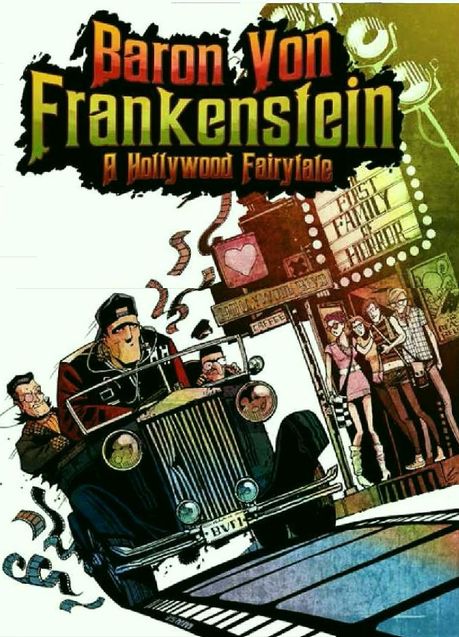 Baron Von Frankenstein A Hollywood Fairytale cover