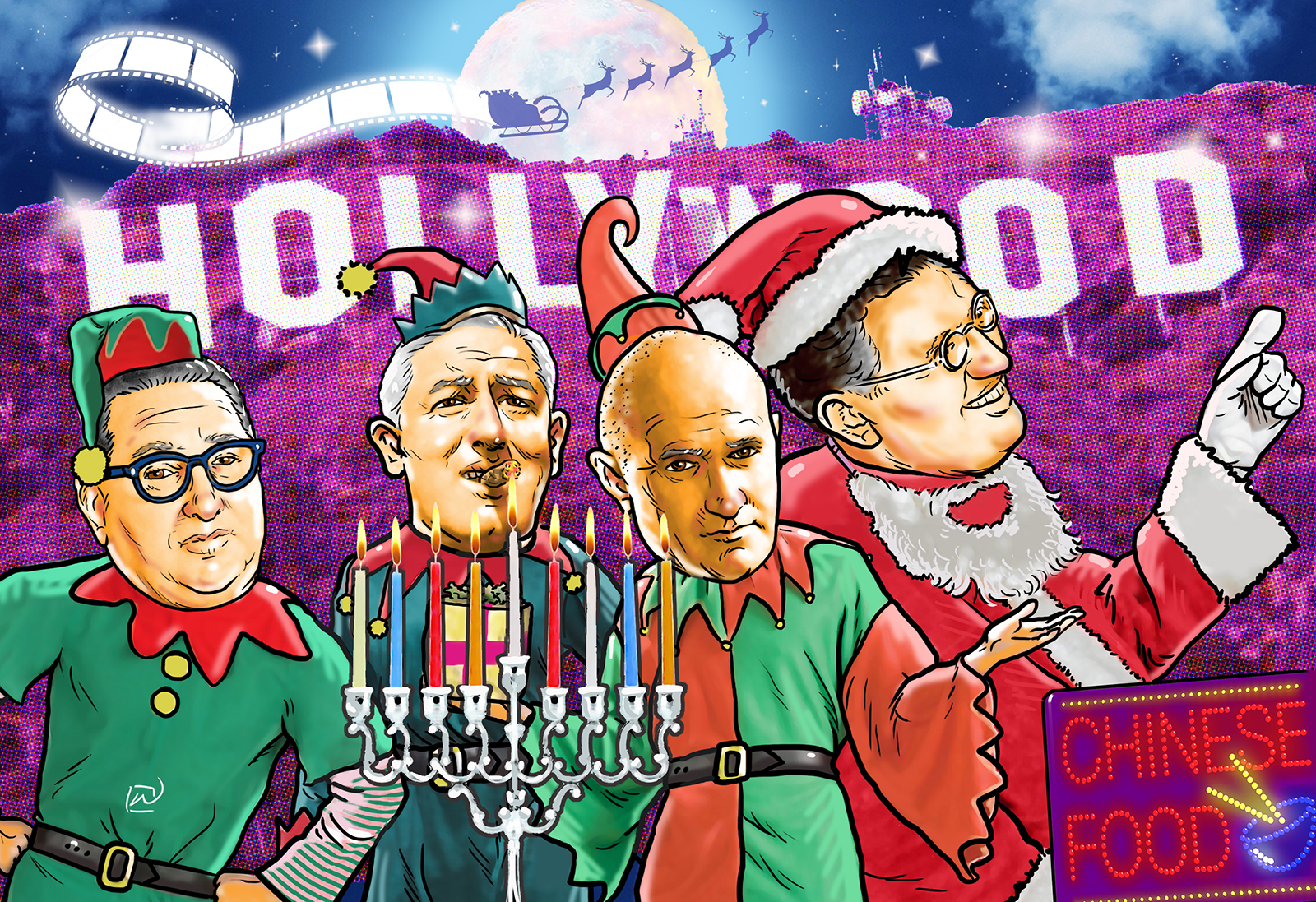 Do Jews Celebrate Christmas.Nobody Does Christmas Like The Jews Hollywood Dementia Llc