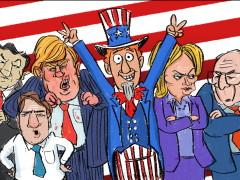 The Raw Vote Is In <br> by Bill Scheft